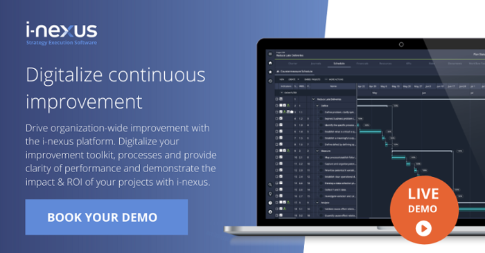 Continuous improvement platform demo