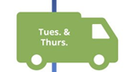 VSM icon, shipping truck